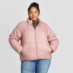 NEW Universal Thread Women's Plus Size Puffy Coat